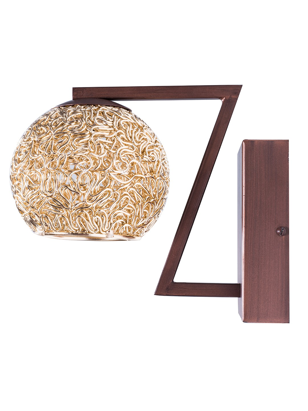 Golden Globe Single Wall Light