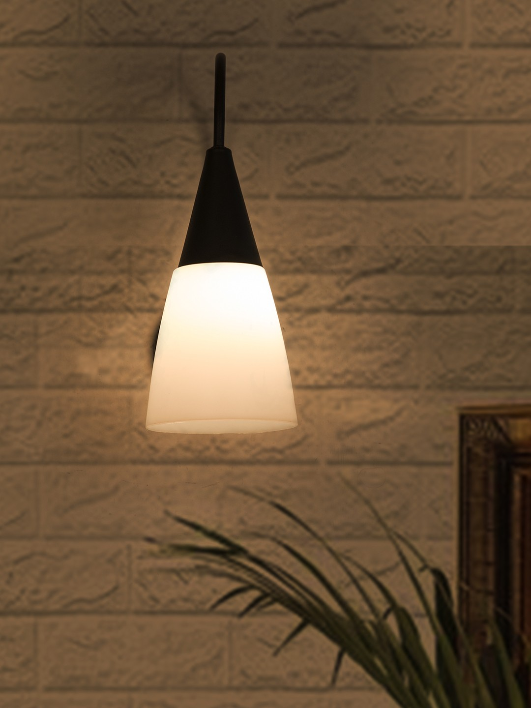Unbreakable Modern Conical Wall Lamp