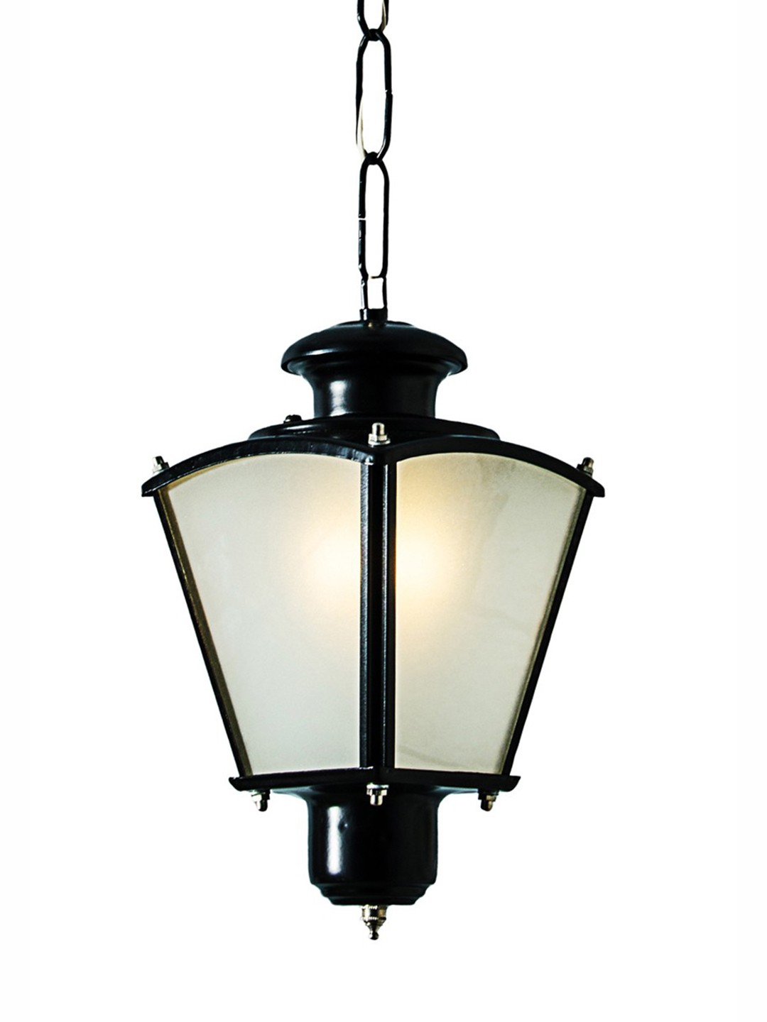 Classic Black Small Outdoor Lantern Light