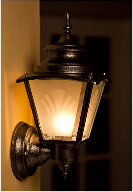 Outside Wall Lights Grey : silver grey outdoor wall light