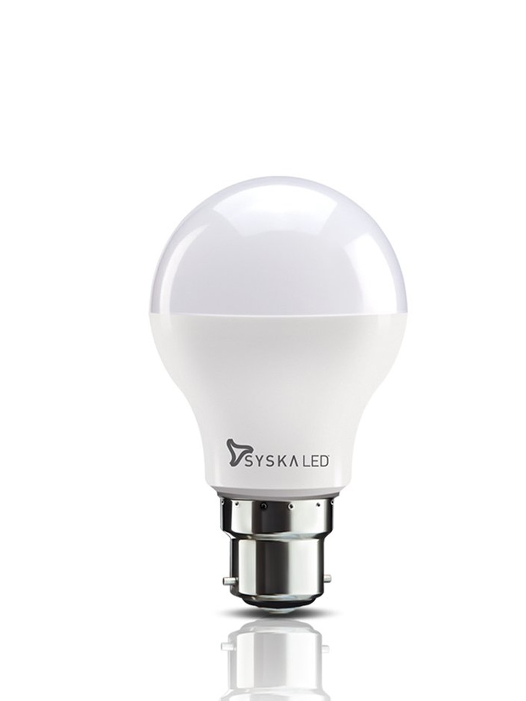Syska B22 Base 7 Watt LED Bulb (Warm White Light)