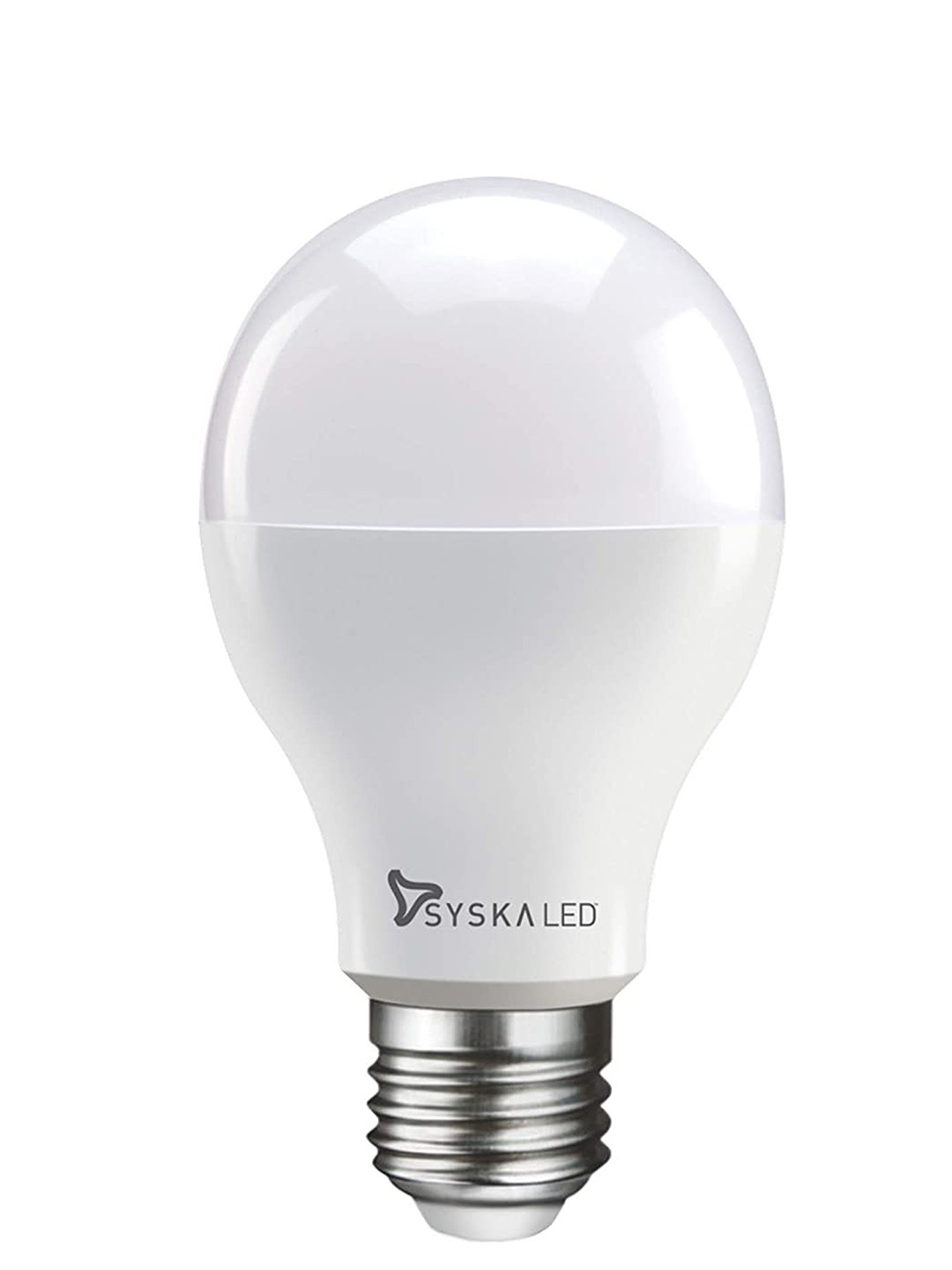 Syska E27 Base 9 Watt LED Bulb (Warm White Light)