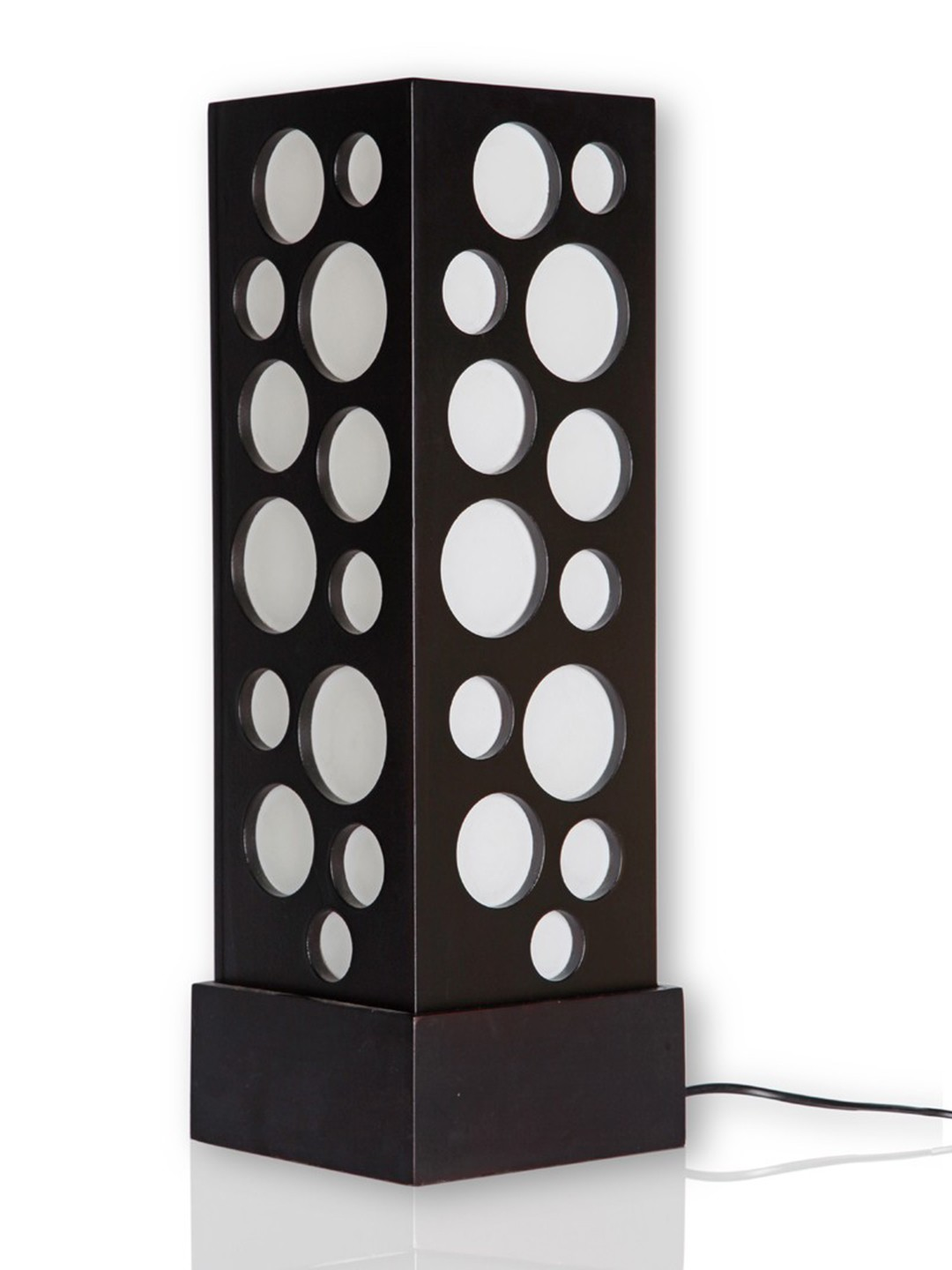 Wenge Bubble Table Lamp
