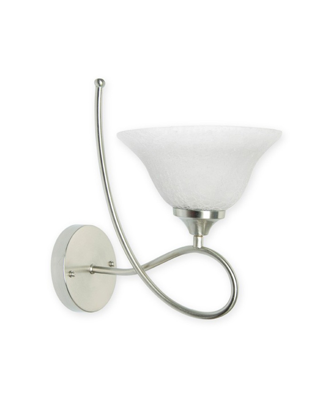 Butterfly Satin Steel Contemporary Wall Sconce
