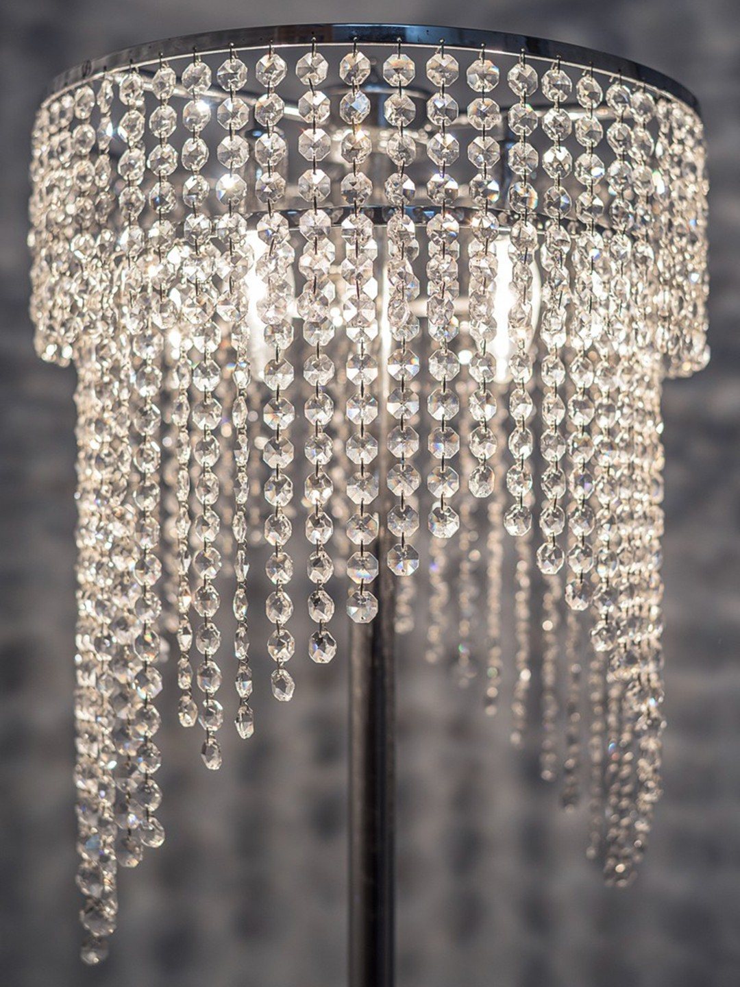 Cascade Prismatic Floor Lamp