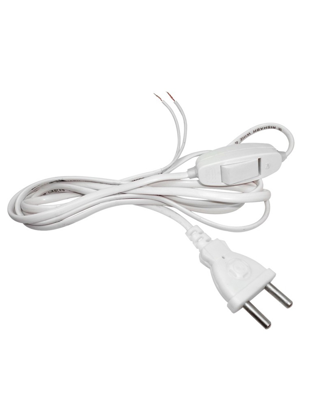 Cord with Switch - White 2M