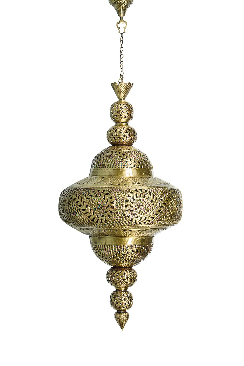 Moroccan Style Royal Brass Pendant Light