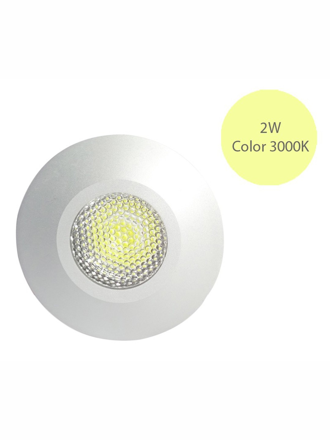 2W Philips Recessed Spot Light Warm White
