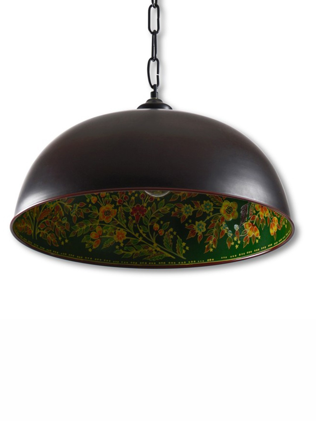Hand Painted Pendant Light