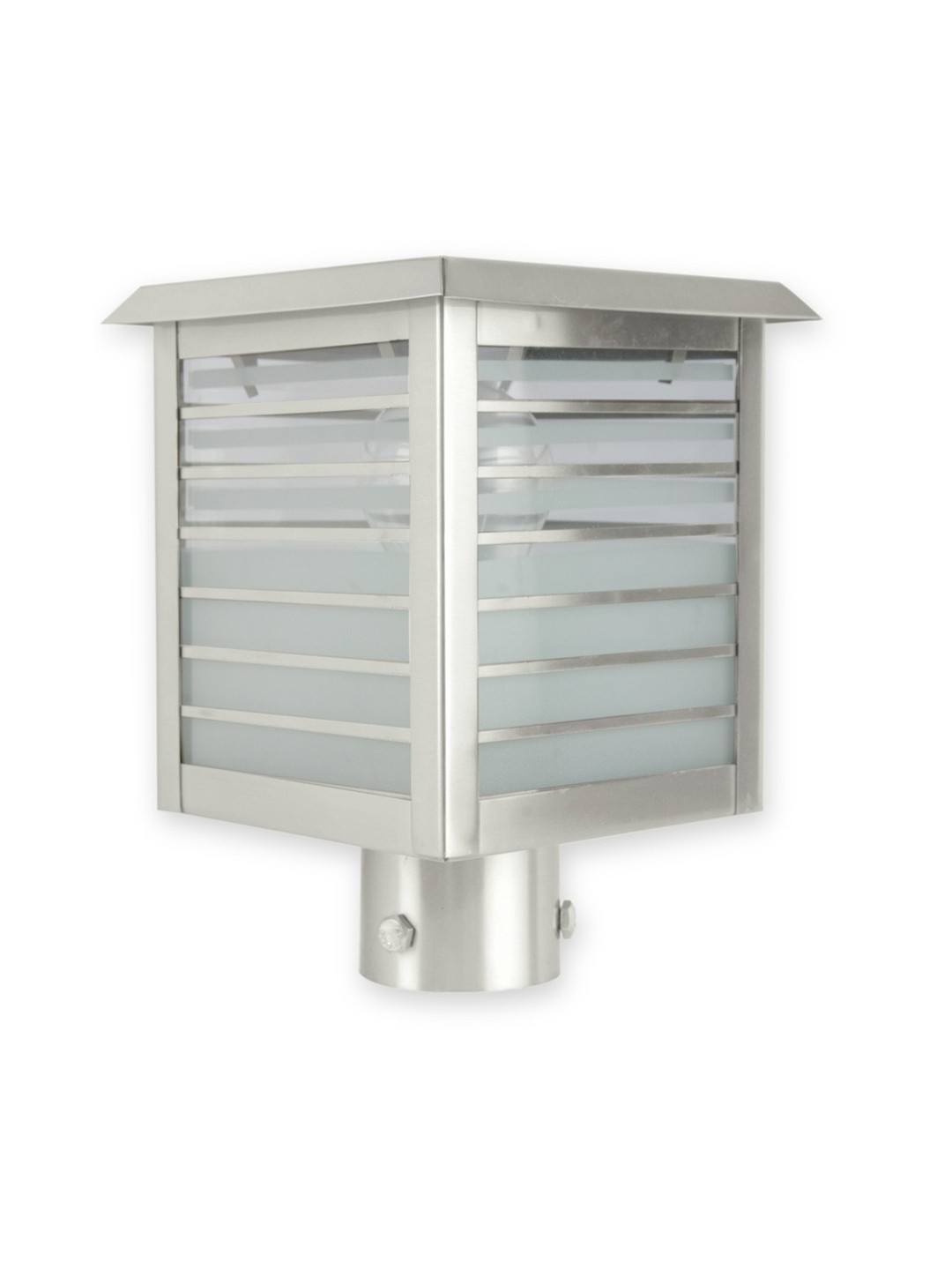 New Alpha Small Stainless Steel Gate Light