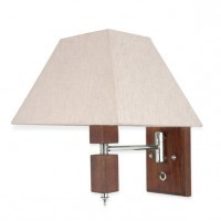 Martin Swivel Wood Beside Wall Lamp