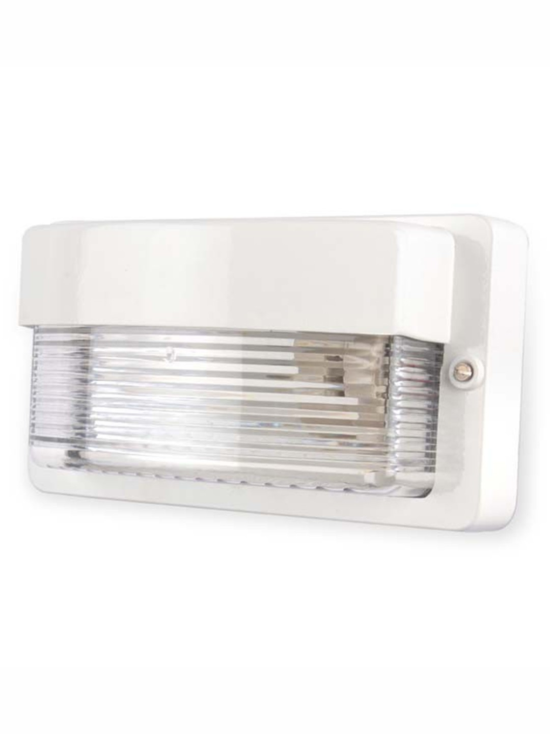 Maxi Cast Aluminium White Outdoor Bulkhead Light
