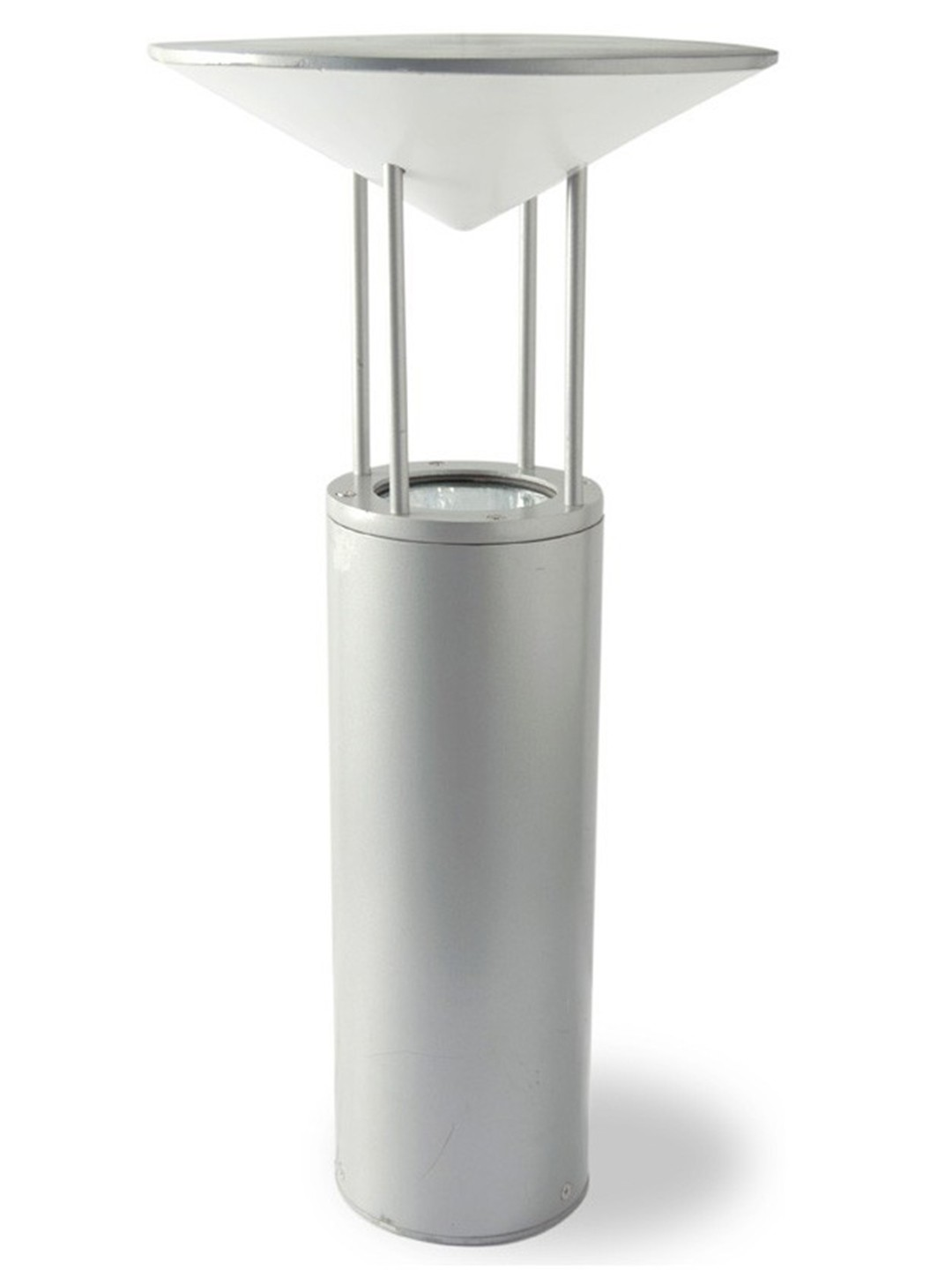 Contemporary Silver Pointer Bollard