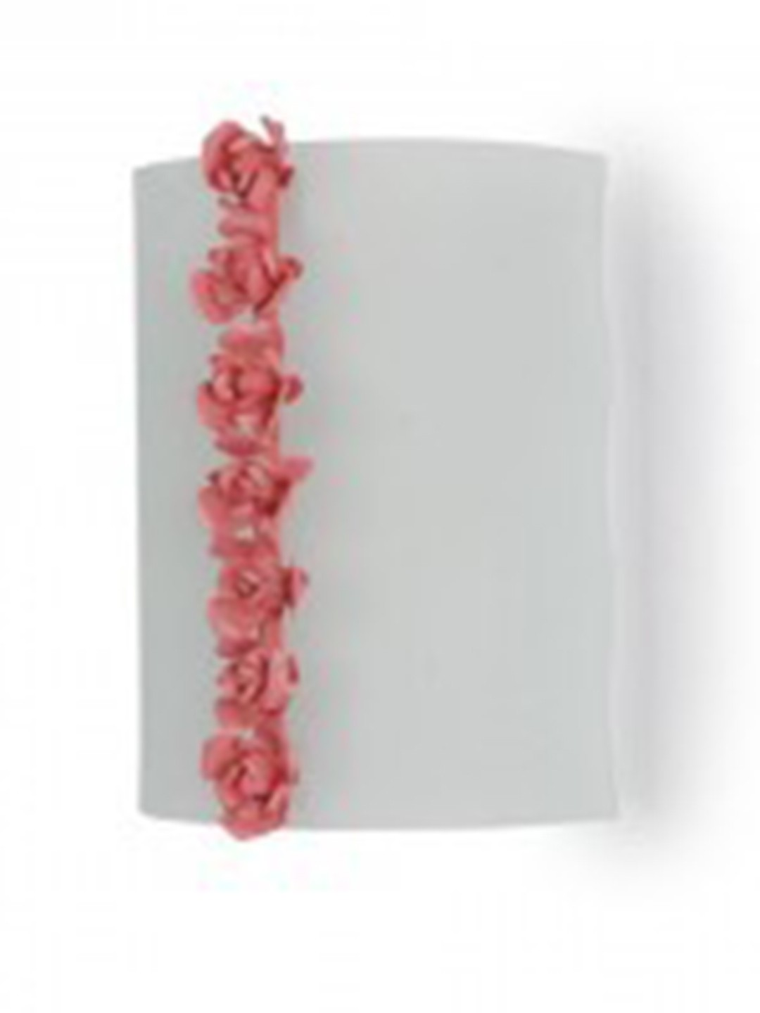 Pink Rose Wall Light