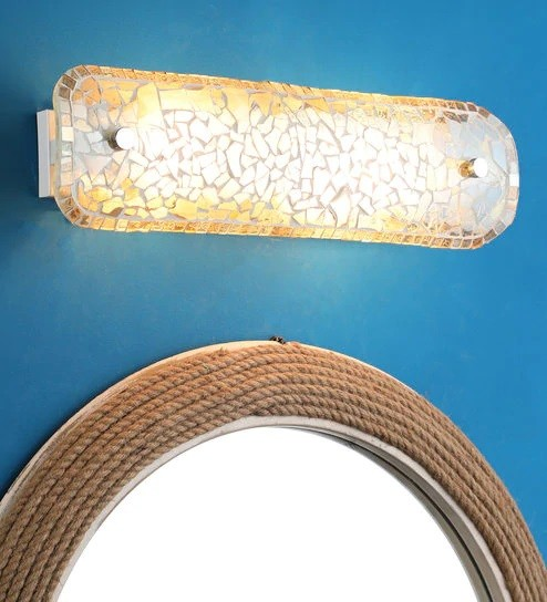 Golden Tukri Double Wall Light