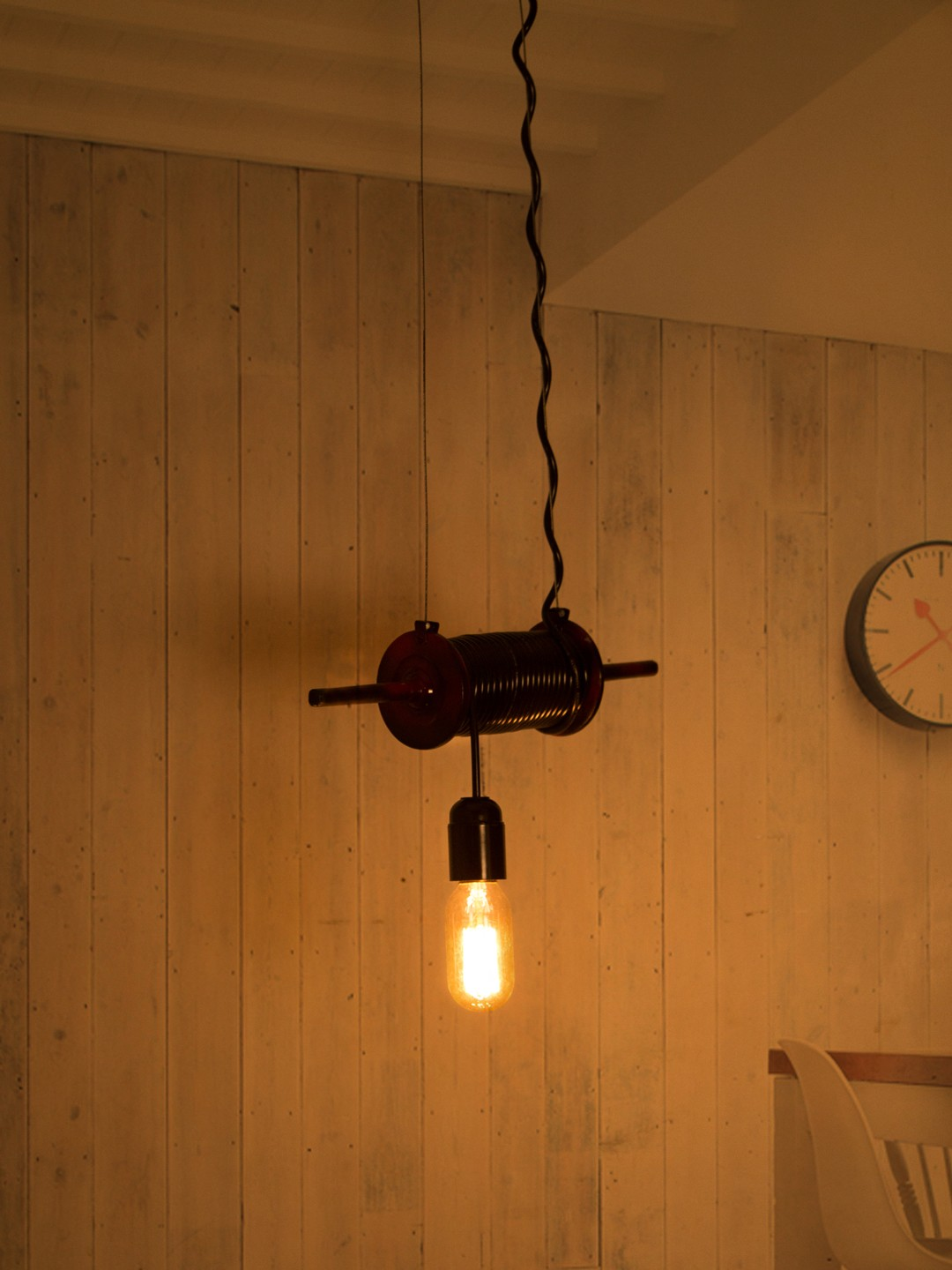 Kite Spool Pendant Light