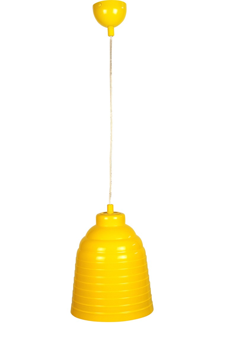 Contemporary Lemon Yellow Pendant Light