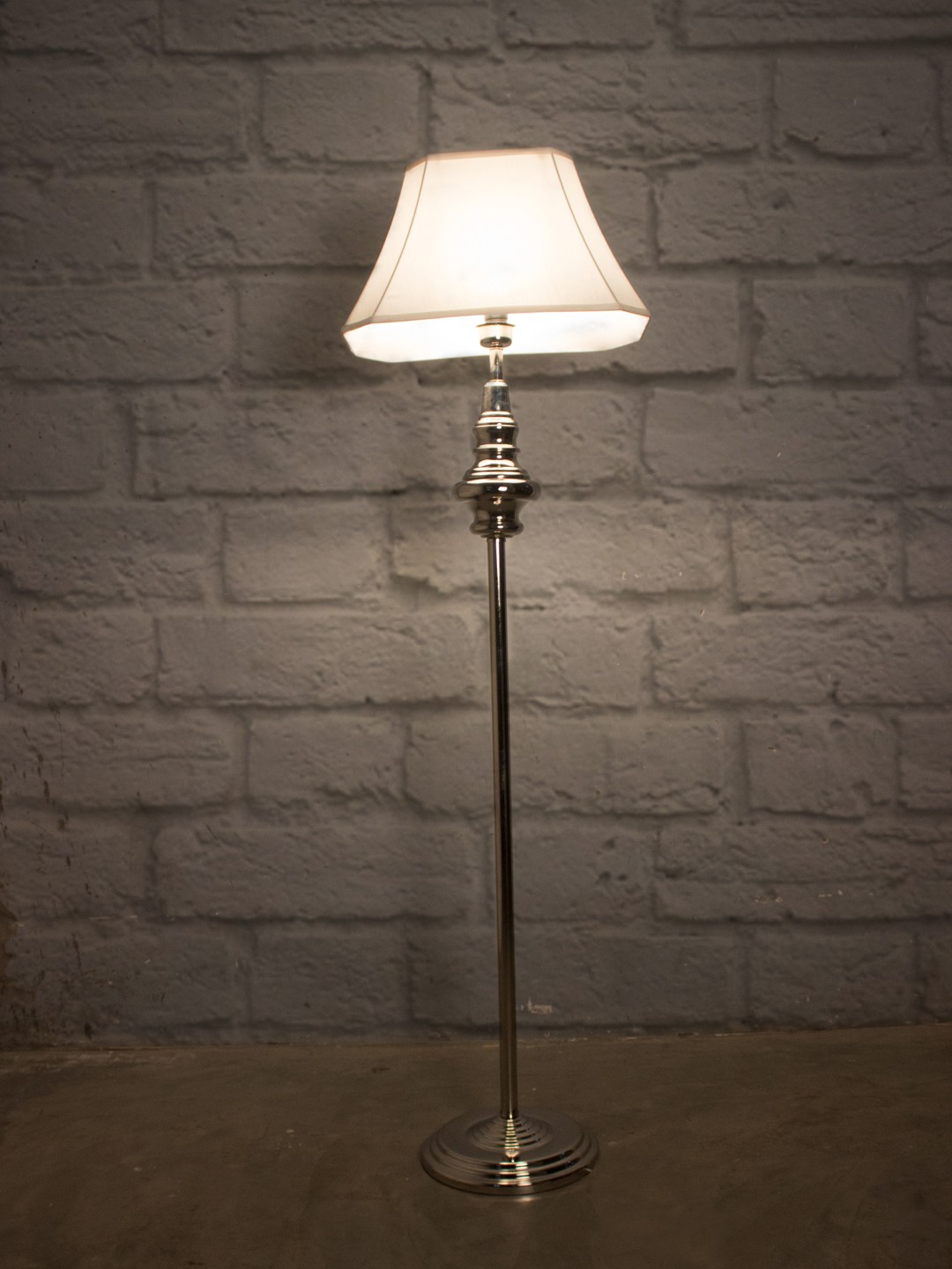 Taj Chrome Floor Lamp