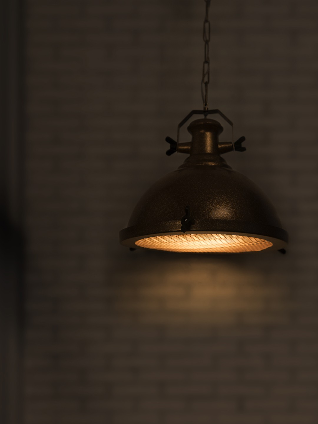 Bronze Industrial Warehouse Pendant Light