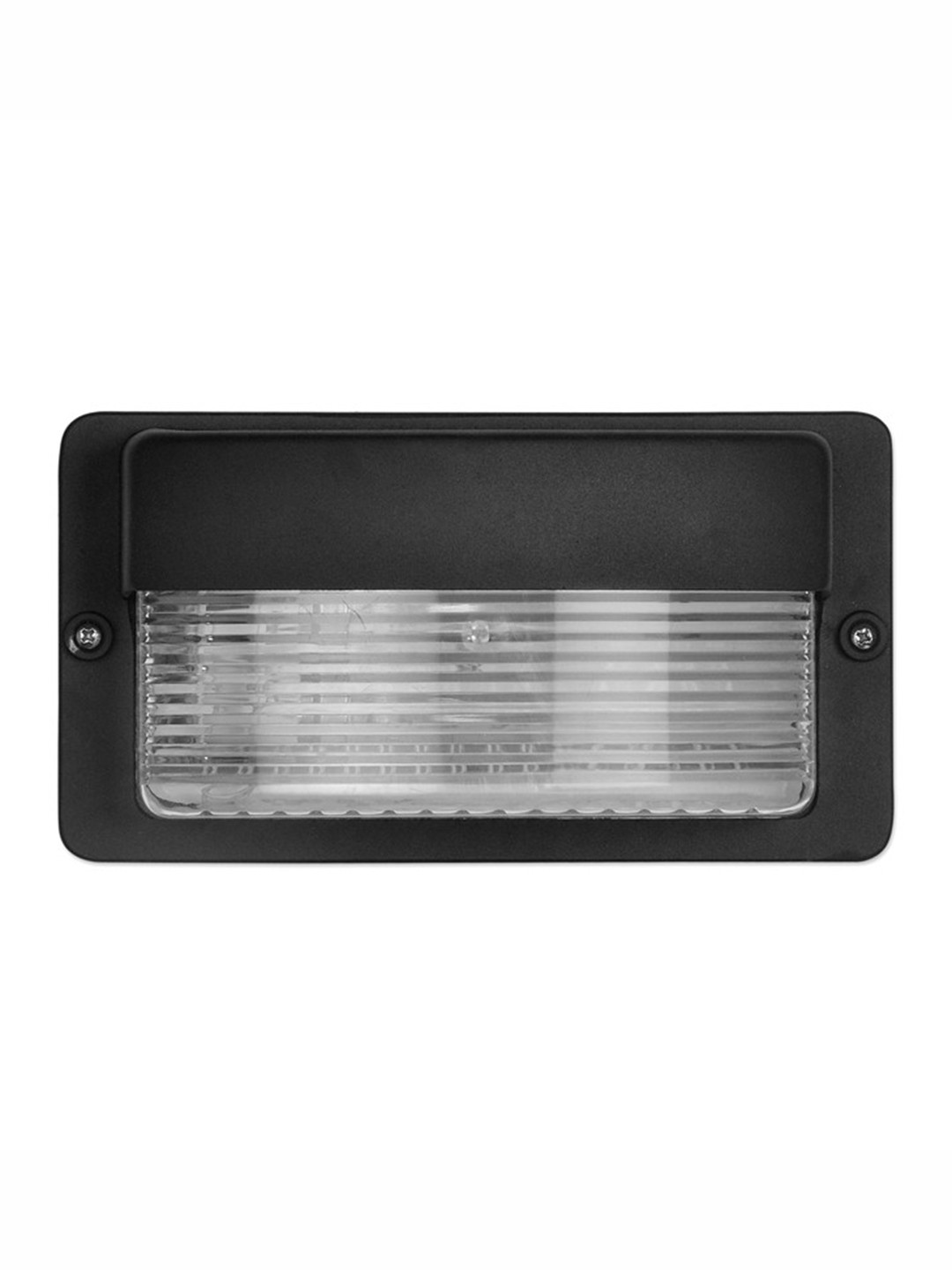 Maxi Cast Aluminium Black Outdoor Bulkhead Light