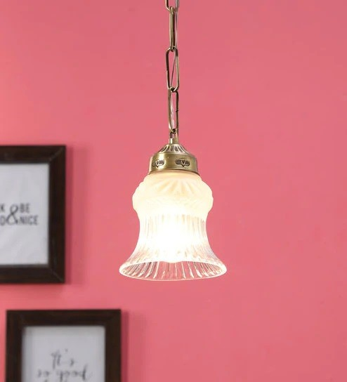 Mini Brass Pendant Light