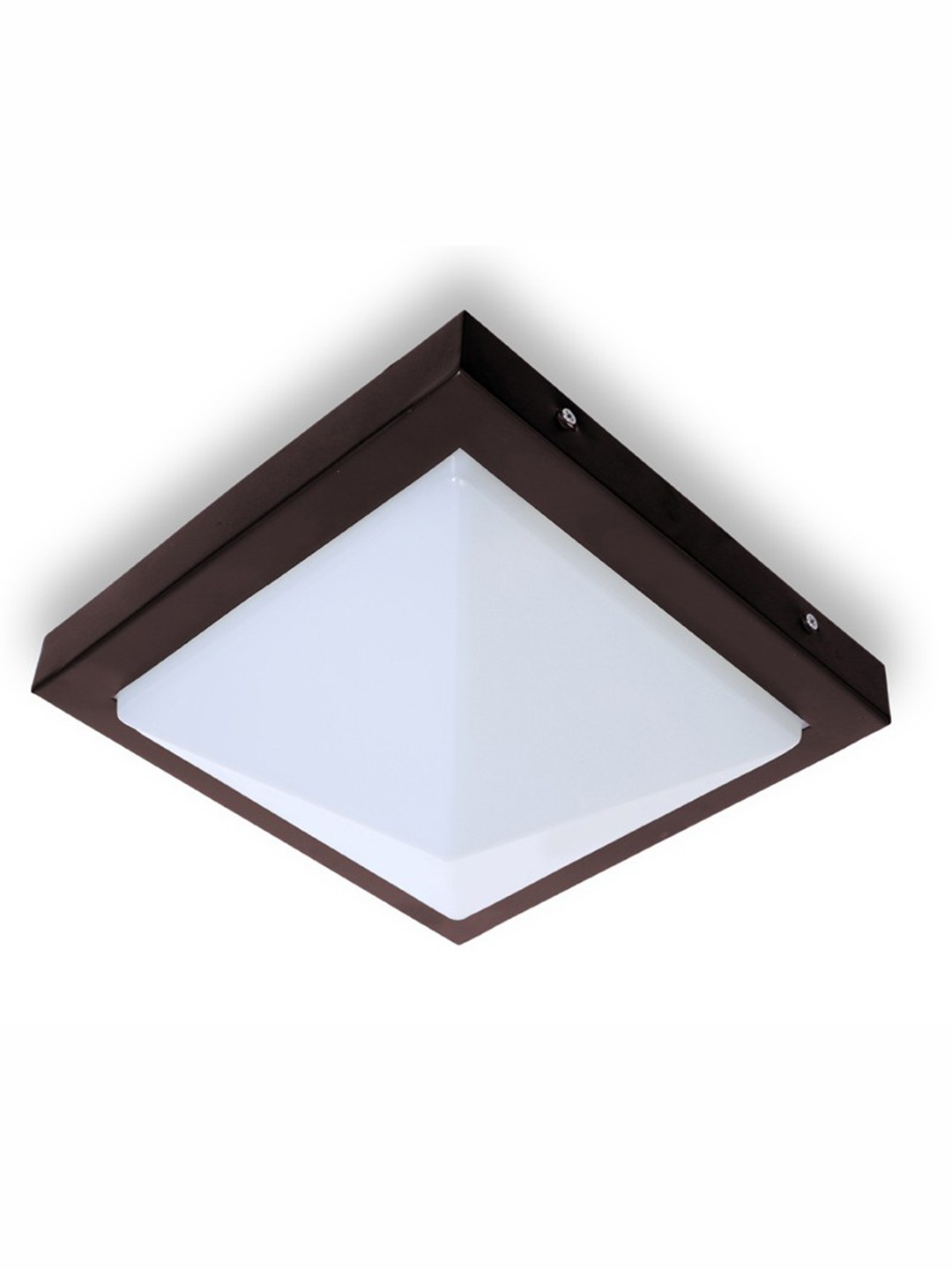 Contemporary Energy Saver Pyramid Ceiling Light
