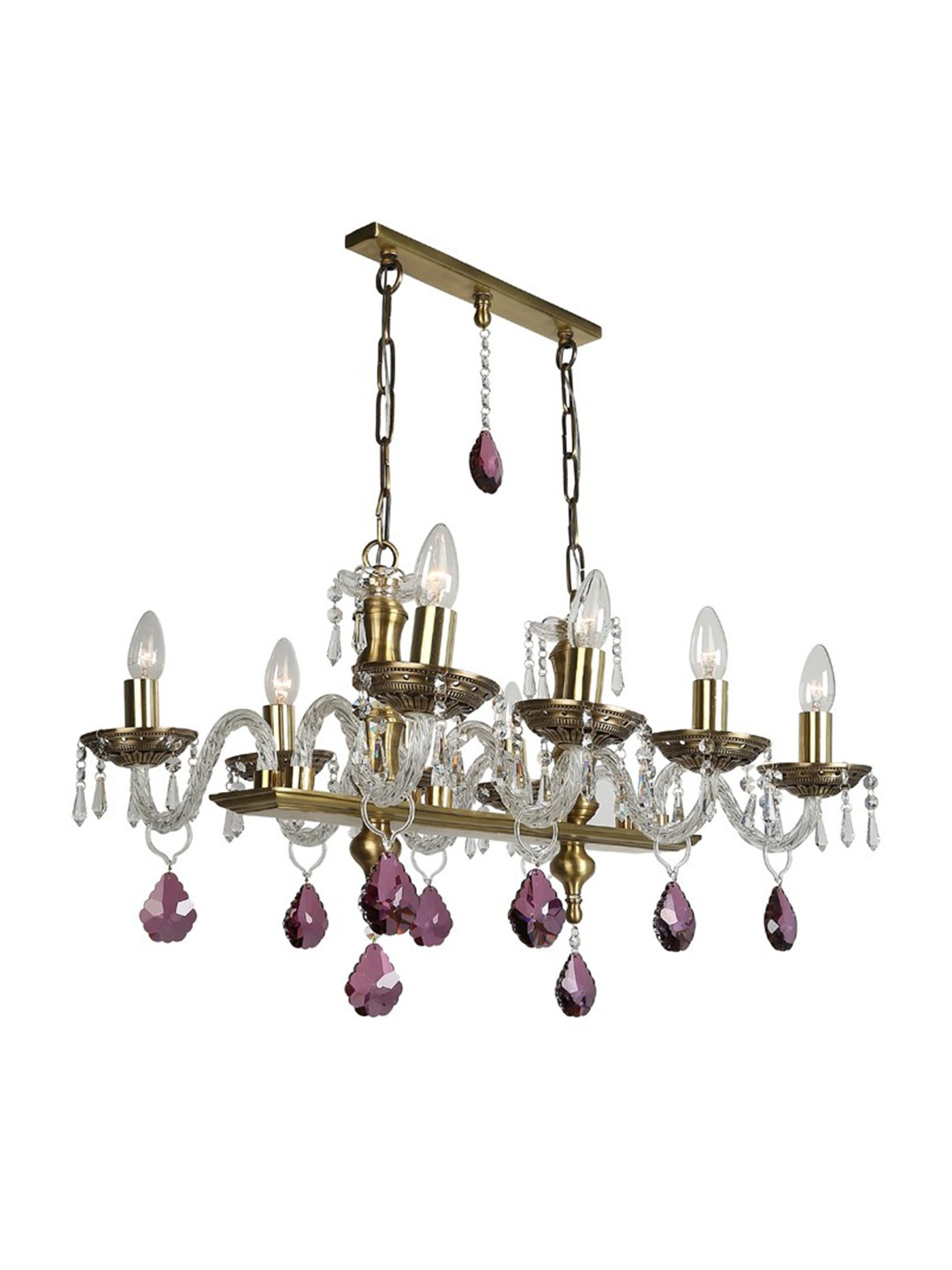 Swarovski Elements Rectangular Chandelier