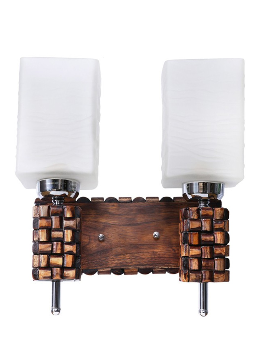 Rolex Square Double Wall Light