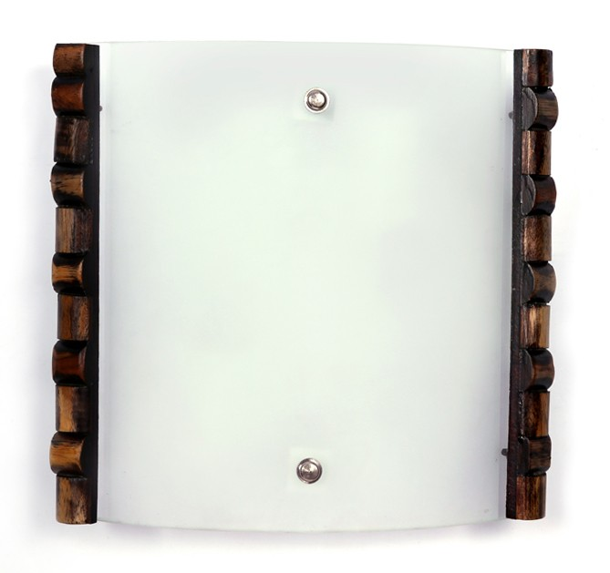 Modern Rolex Wooden Accent Wall Lamp