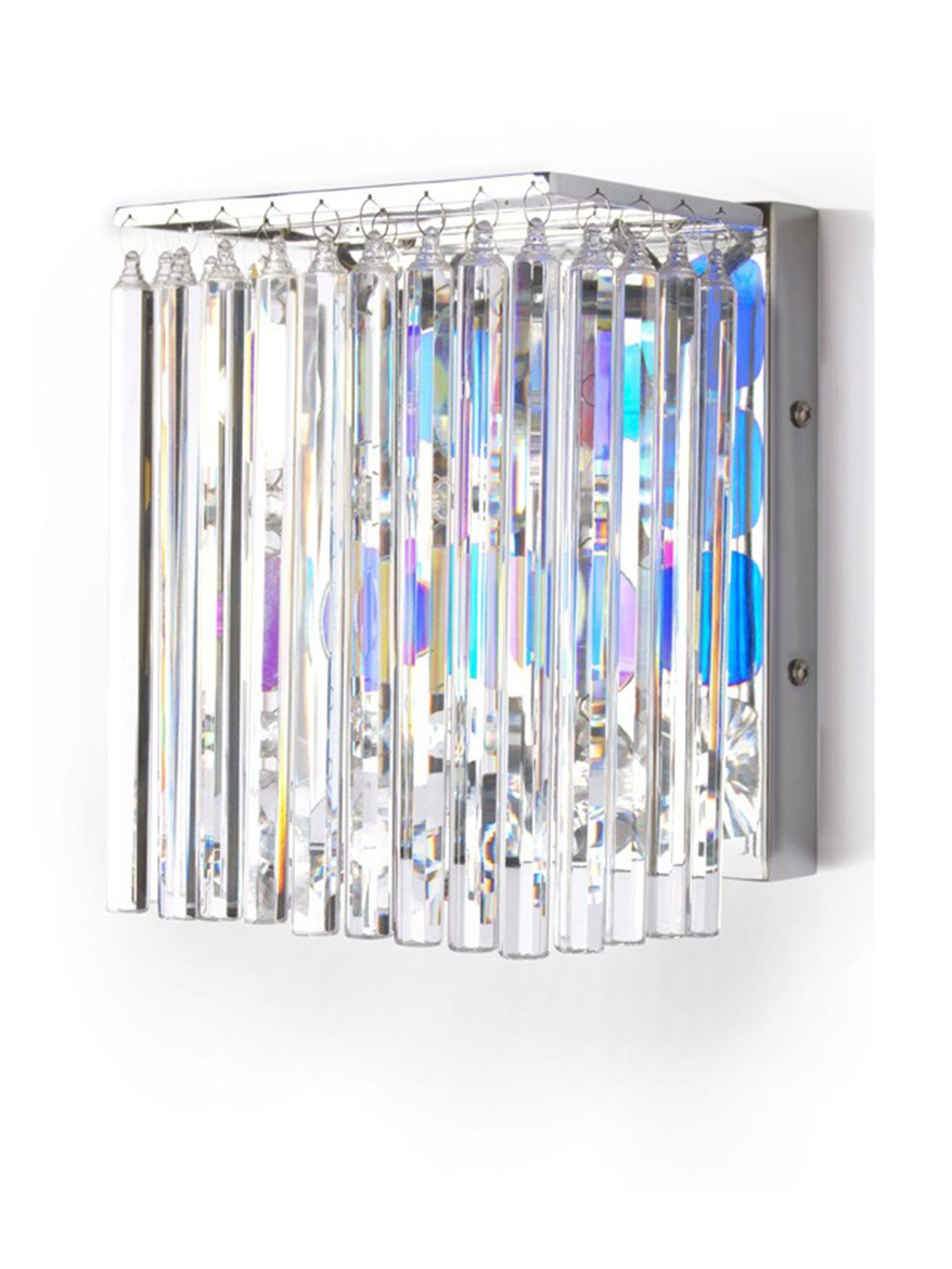 Crystal Clear Rods Led Wall Light