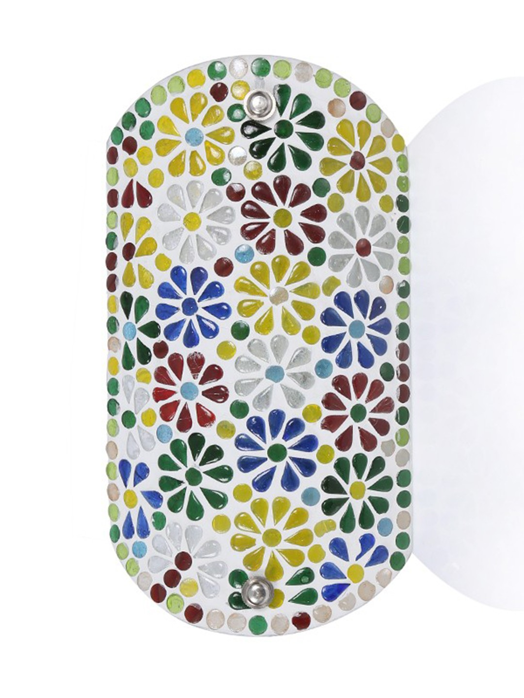 Tukri Multicolored Flowers Single Wall Light