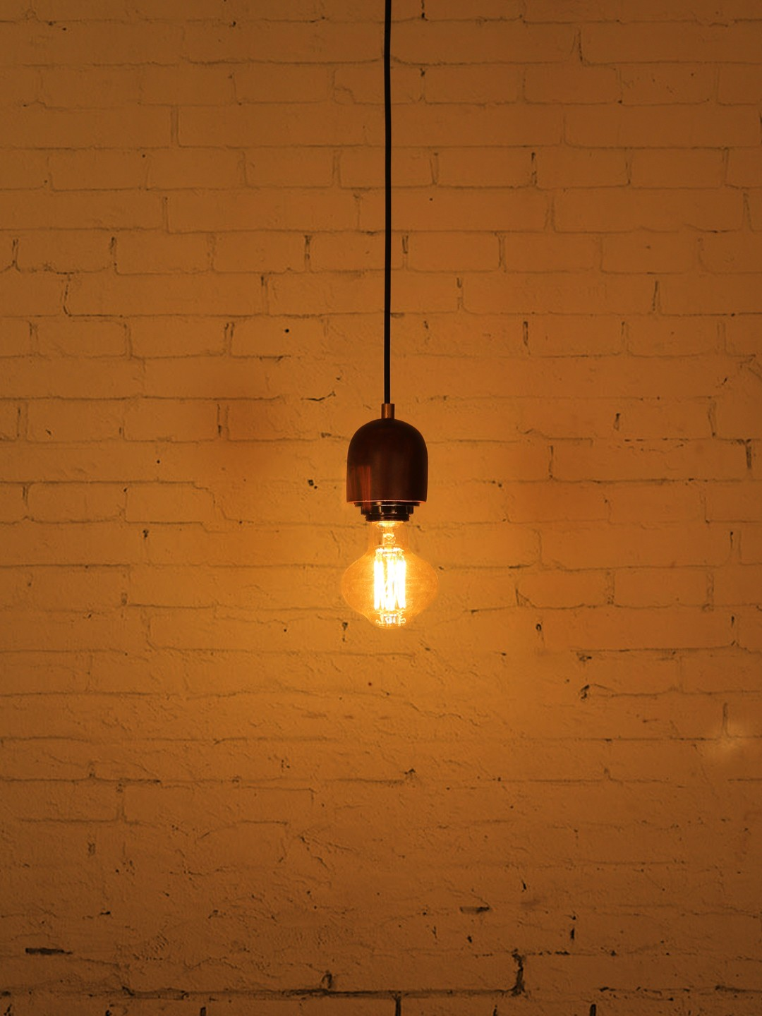 Modern Wooden Single Hanging Lamp