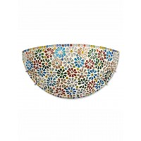 Half Moon Multicolor Wall Sconce