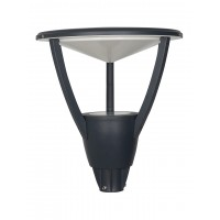 Urban 25 Watt LED Outdoor Gate Light in Cast Aluminium with Warm White Indirect Glare Free Light