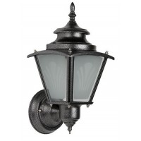 Classic Silver Grey Outdoor Wall Light