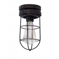 Industrical Vintage Flush Mount Ceiling Lamp