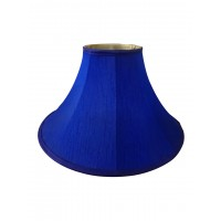 Bell Blue 14 Inches Fabric Table Lampshade (for E27)