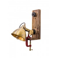 Bench Vise Industrial Wall Light