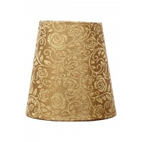 Classic Empire Golden Brocade 6 Inches Small Lampshade (for B22)