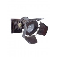 Retro Studio Spotlight Bronze Adjustable Wall Lamp