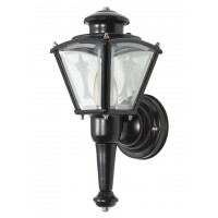 Carriage Vintage Black Steel Outdoor Wall Light