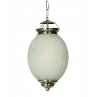 Chandni Crackle Oval Big Hanging Light