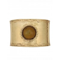 Golden Amber Gem Wall Sconce