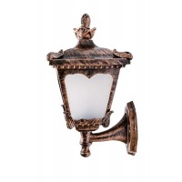 Aluminum casted copper antique finish outdoor wall light