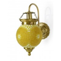 Chandni Gola Energy Saver Brass Sconce