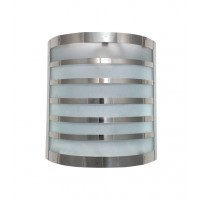 Modern Functional Chrome Stripes Wall Light