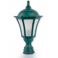 Classic Antique Green Outdoor Gate Light