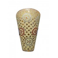 Fos Lighting Tilak Mosaic Conical Wall Sconce