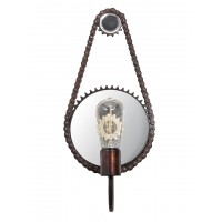 Gear Chain Industrial Wall Light