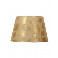 Gold Leaf Classic Empire 14 Inches Fabric Table Lampshade (for E27)